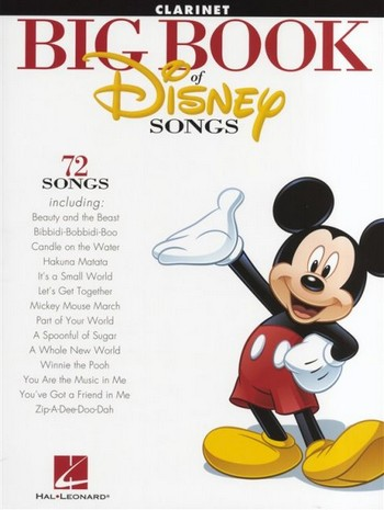 Big Book of Disney Songs: for clarinet