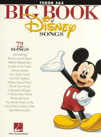 Big Book of Disney Songs: for tenor saxophone
