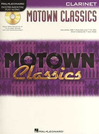 Motown Classics (+CD): for clarinet