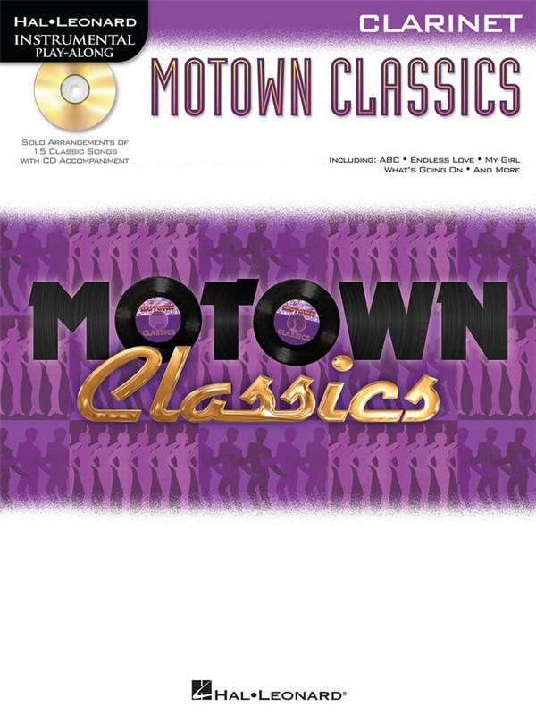 Motown Classics (+CD): for clarinet