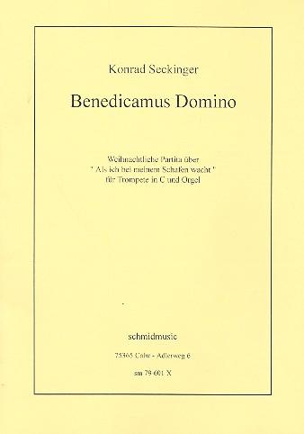 Benedicamus Domino: für Trompete in C