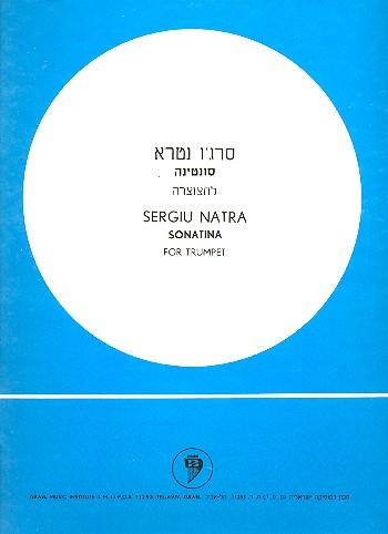 Sonatina: for trumpet solo