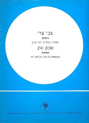 Zori, Zvi - Nimim : for trombone