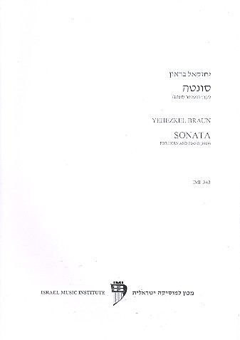 Sonata: for horn and piano