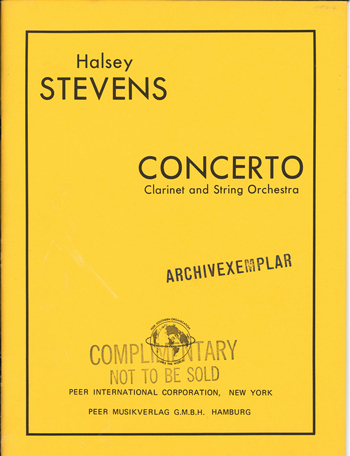 Concerto: for piano and string orchestra