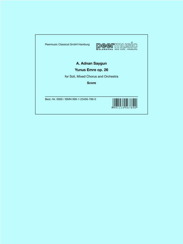 Saygun, A. Adnan - Yunus Emre op.26 :