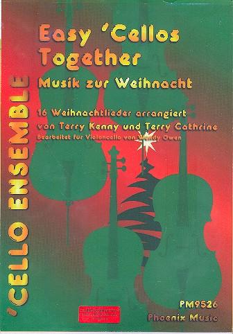 Musik zur Weihnachtzeit: für 4 Violoncelli ( Ensemble)
