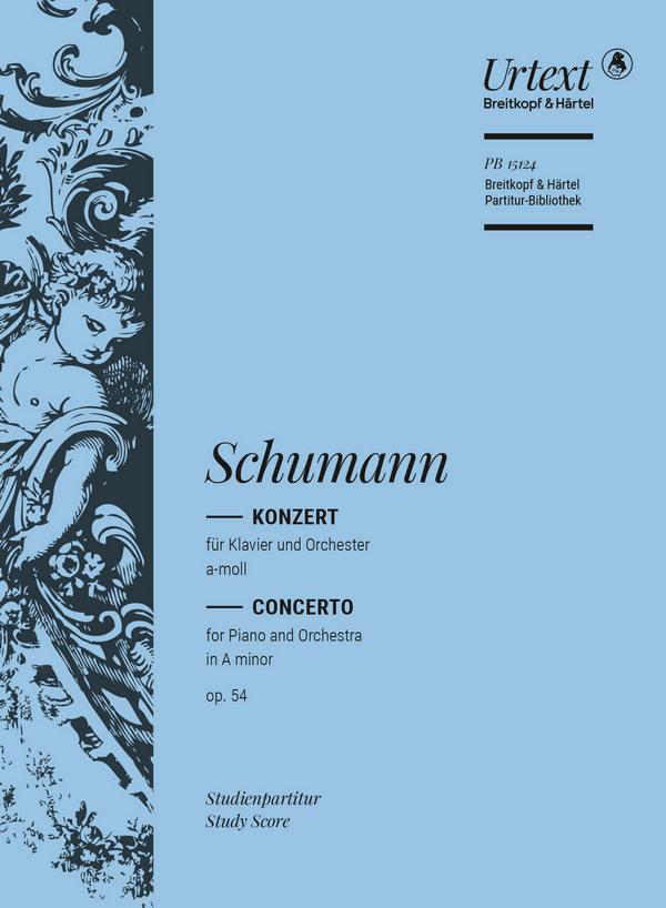 Schumann, Robert - Konzert a-Moll op.54 :