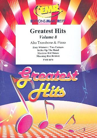 Greatest Hits Band 8: für Altposaune und Klavier (Percussion ad lib)