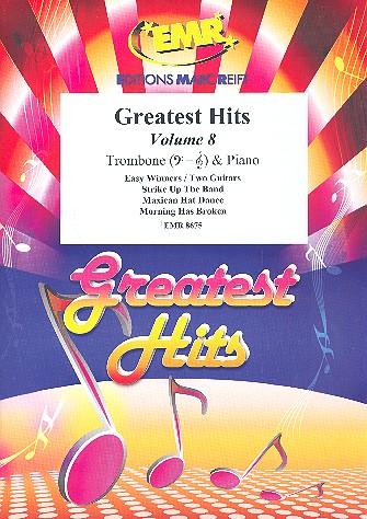 Greatest Hits Band 8: für Posaune und Klavier (Percussion ad lib)