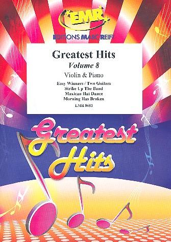 Greatest Hits Band 8: für Violine und Klavier (Percussion ad lib)