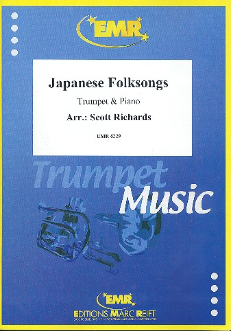 Japanese Folksongs: für Trompete und Klavier