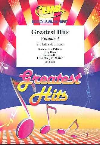 Greatest Hits Band 4: für 2 Flöten und Klavier (Percussion ad lib)