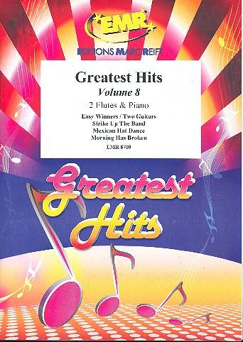 Greatest Hits Band 8: für 2 Flöten und Klavier (Percussion ad lib)