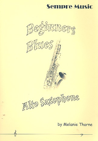 Beginners Blues (+CD): for saxophone