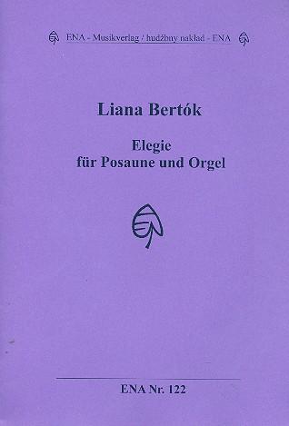 Elegie: für Posaune und Orgel