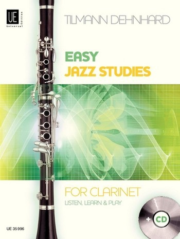 Easy Jazz Studies (+CD): for clarinet