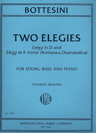 2 Elegies: for string bass and piano