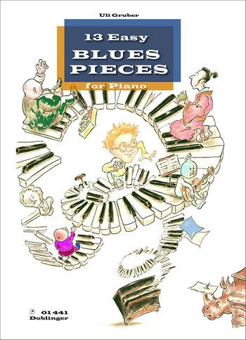 13 easy Blues Pieces: for piano