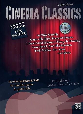 Cinema Classics (+CD): für Gitarre