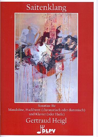 Saitenklang: für Mandoline, Hackbrett und Klavier (Harfe)
