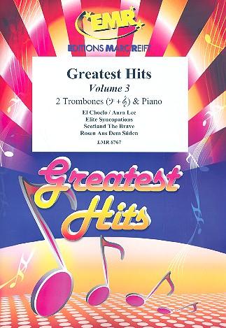 Greatest Hits vol.3: for 2 trombones and piano (percussion ad lib)