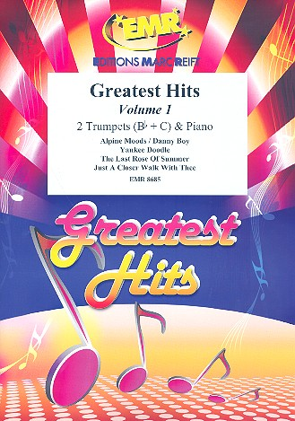 Greatest Hits vol.1: for 2 trumpets and piano (percussion ad lib)