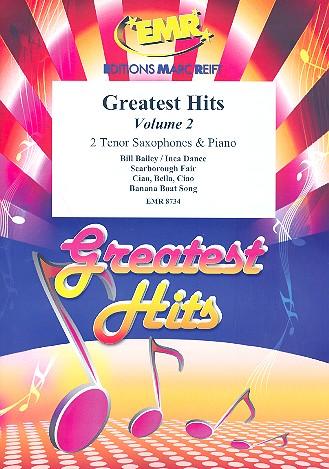 Greatest Hits vol.2: for 2 tenor saxophones and piano (percussion ad lib)