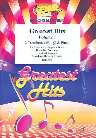 Greatest Hits vol.7: for 2 trombones and piano (percussion ad lib)