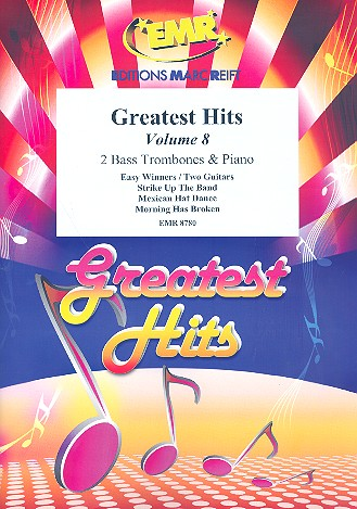 Greatest Hits vol.8: for 2 bass trombones and piano (percussion ad lib)
