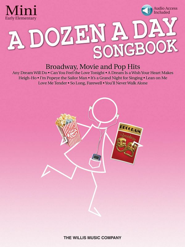A Dozen A Day Songbook - Mini (+CD): for piano