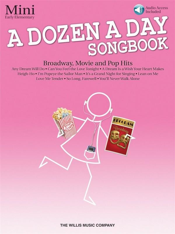A Dozen A Day Songbook - Mini (+CD): for piano