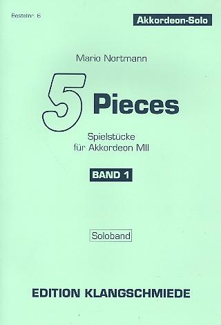 5 Pieces Band 1: für Akkordeon