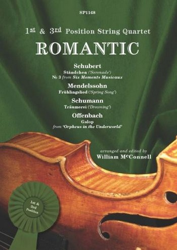 1st and 3rd Position String Quartet - Romantic: for string quartet