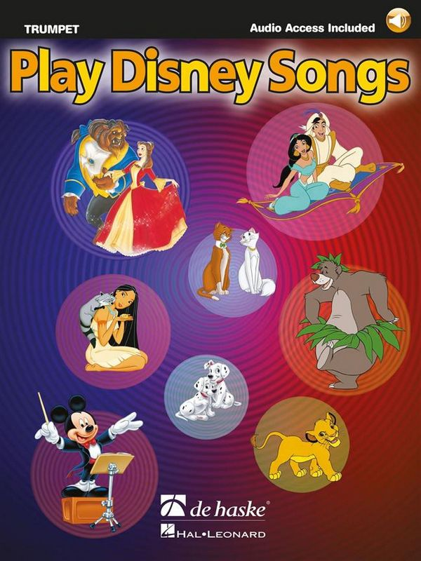 - Play Disney Songs (+CD) : for trumpet