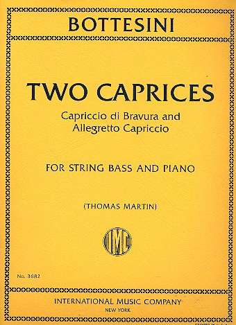 2 Caprices: for double bass and piano
