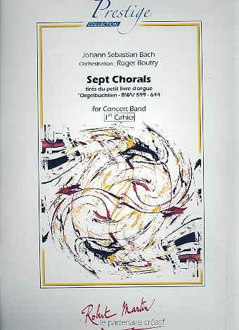 7 Chorals vol.1: for concert band score
