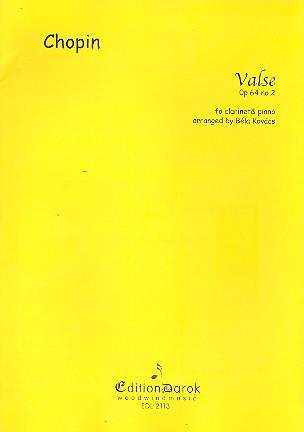Chopin, Frédéric - Valse op.64,2 :