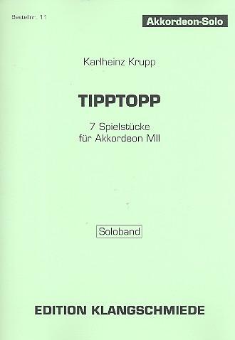 Tipptopp: für Akkordeon