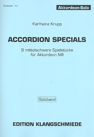 Accordion Specials: für Akkordeon