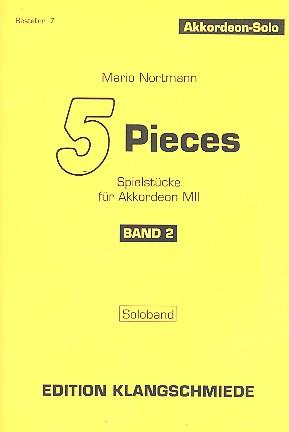 5 Pieces Band 2: für Akkordeon