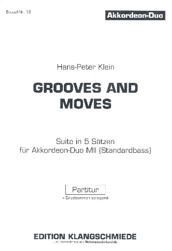 Grooves and Moves: für 2 Akkordeons