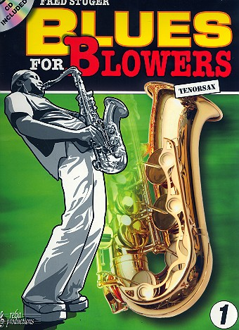 Blues for Blowers (+CD): for tenor saxophone
