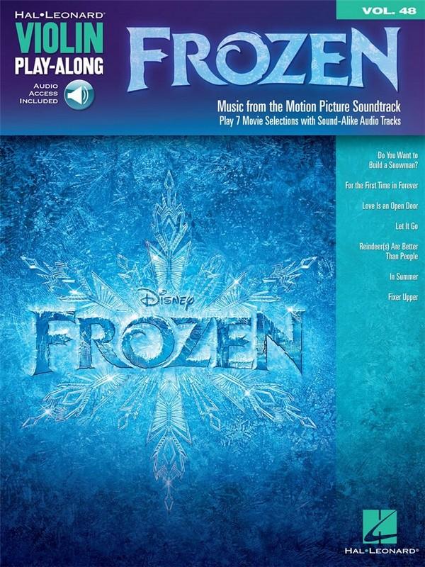 Frozen (Die Eiskönigin - völlig unverfroren) (+Download): for violin