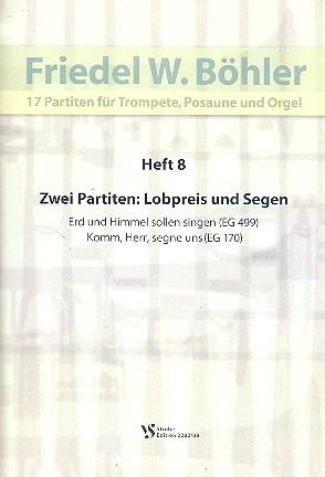 17 Partiten Band 8: für Trompete, Posaune und Orgel