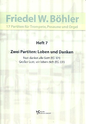 17 Partiten Band 7: für Trompete, Posaune und Orgel