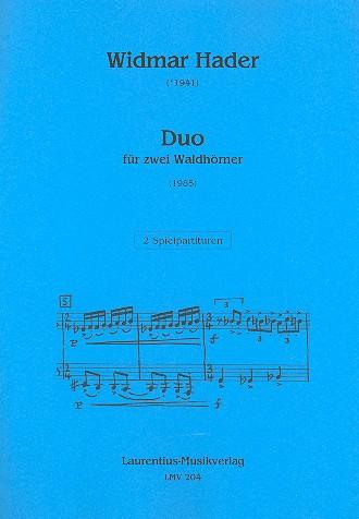 Duo: für 2 Hörner