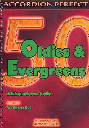 50 Oldies und Evergreens: für Akkordeon
