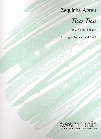 Abreu, Zequinha - Tico Tico : for 2 pianos
