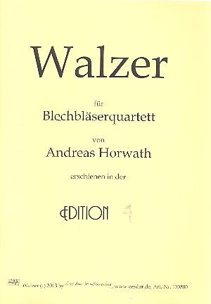 Walzer: für 2 Trompeten und 2 Posaunen